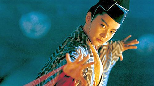 Brigitte Lin as Invincible Asia in The East Is Red