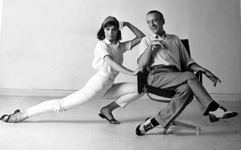 Barrie Chase and Fred Astaire