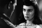 Jean Simmons with Robert Mitchum in Angel Face