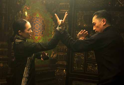 Ziyi Zhang and Tony Leung in The Grandmaster