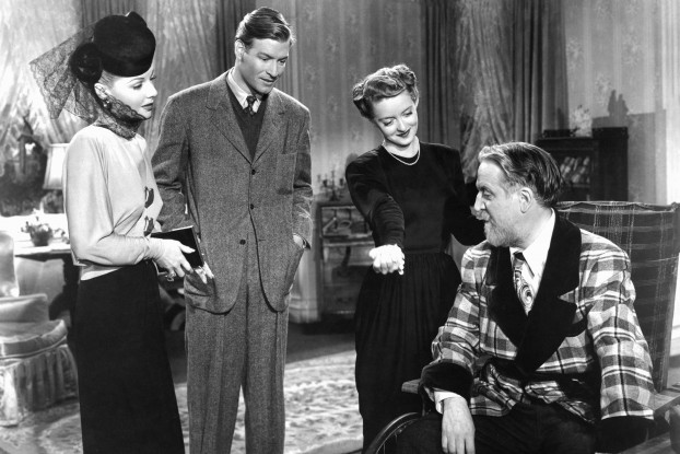 Ann Sheridan, Richard Travis, Bette Davis, Monty Woolley