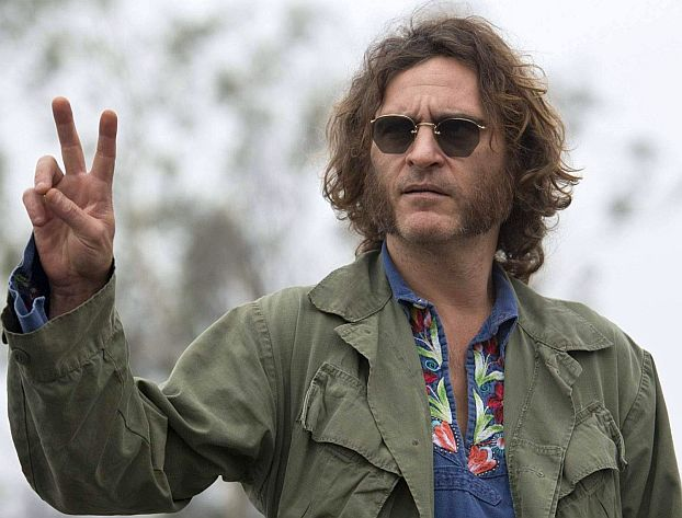 "Joaquin Phoenix as Larry ""Doc"" Sportello in ""Inherent Vice."" (Courtesy of Warner Bros. Pictures, Wilson Webb)"