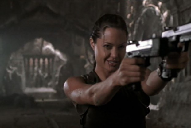 In her Summit keynote speech, Angelina Jolie aimed her weapons straight at the rapists. (Lara Croft: Tomb Raider)