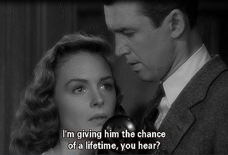 """It's a Wonderful Life: """"The chance of a lifetime."""""""