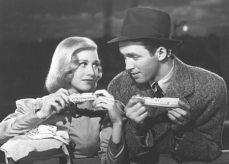 Stewart and Ginger Rogers in Vivacious Lady