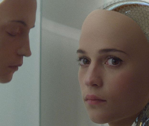Is Ava simply a machine wearing a human mask?