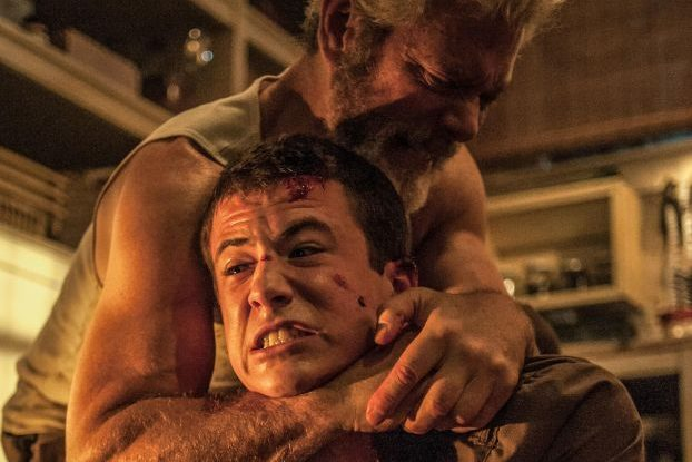 Stephen Lang and Dylan Minnette