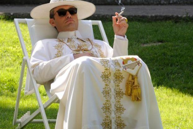 Young Pope Jude Law as Pope Lenny