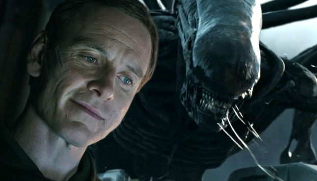 Alien: Covenant: David and the protomorph